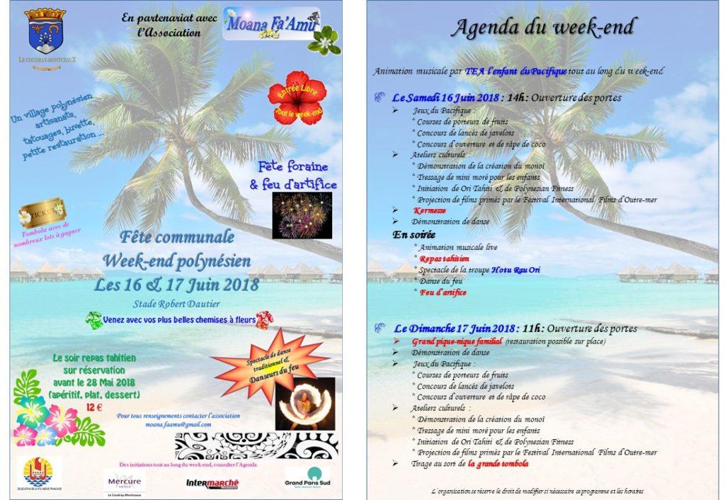 2018061617 - WE Polynésien Affiche avec Agenda