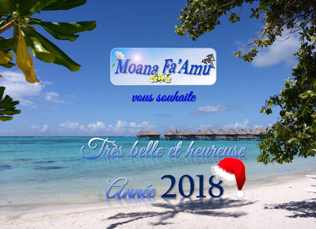 2018 - Moana Fa'Amu Bonne Année